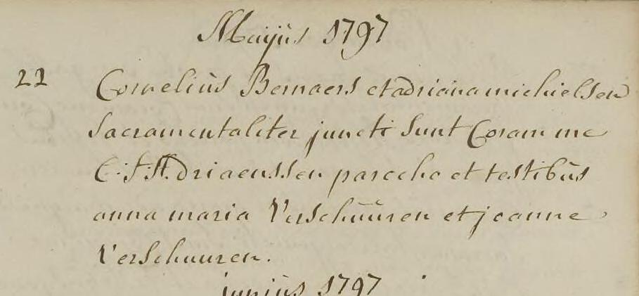 Bernaers 1797