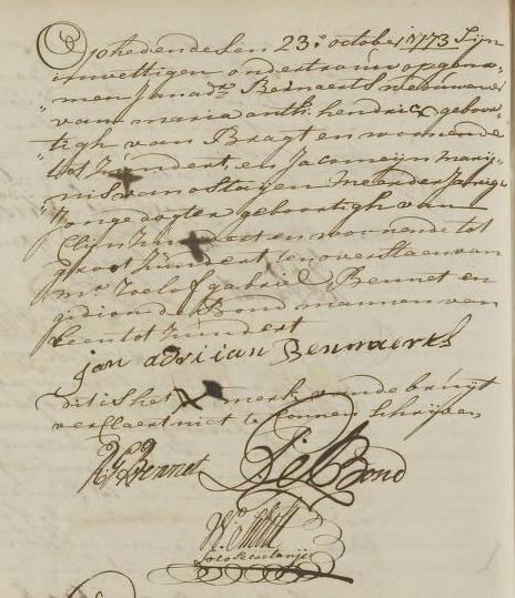 Bernaerts 1773