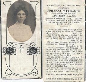 Johanna Pieternella Hazen-Withagen 2