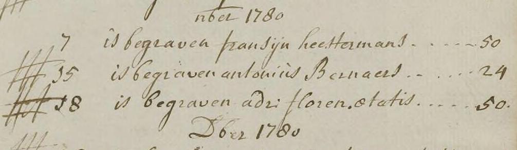 Bernaerts 1780