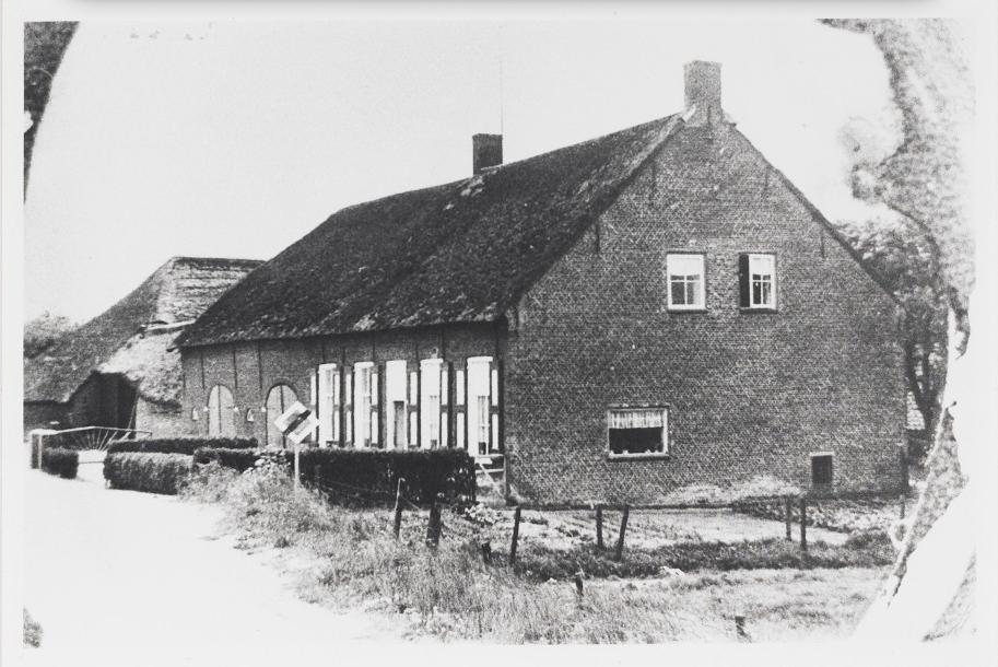 De Schaliehoef langs de Antwerpschestraatweg waar Jan Franken woonde. Foto van 1965/1966. (Afbeelding: RHC 't Markiezenhof)